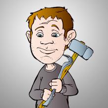 Demolition worker